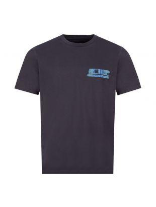 CP Company T-Shirt Logo | MTS320A 005621W 888 Navy | Aphrodite Clothing