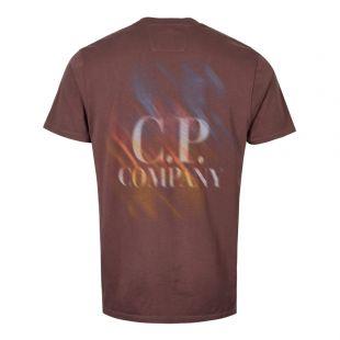 T-Shirt Logo – Peppercorn / Brown