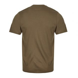 T-Shirt Printed Label - Olive