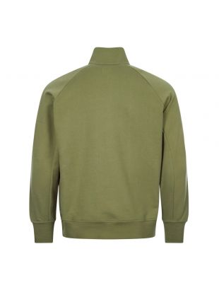 Sweatshirt Zip - Khaki Green