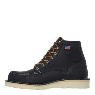 danner bull run moc toe boots 15568 black