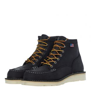 Bull Run Moc Toe Boots - Black