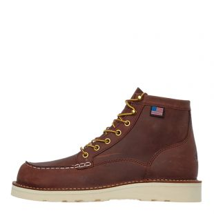 danner bull run moc toe boots 15573 brown