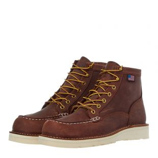 Bull Run Moc Toe Boots - Tobacco