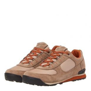 Jag Low Shoes - Taupe / Orange