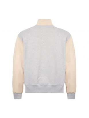 Half Zip Sweatshirt - Grey