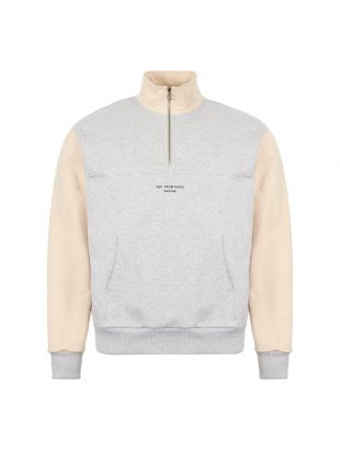 Drole De Monsieur Half Zip Sweatshirt | SS20SW004 Grey