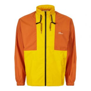 Drôle de Monsieur Jacket NFPM Windbreaker FW19 ROTTERDAM YL Orange / Yellow