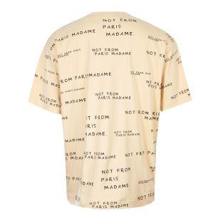 T-Shirt Slogan - Sand