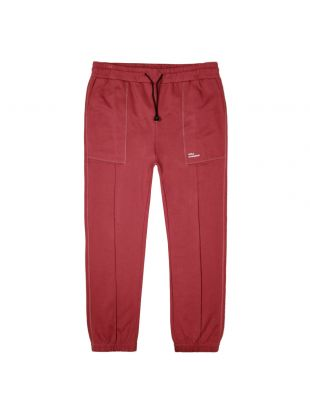 Drôle de Monsieur Sweatpants Cuffed |SS20BP012 Burgundy| Aphrodite1994