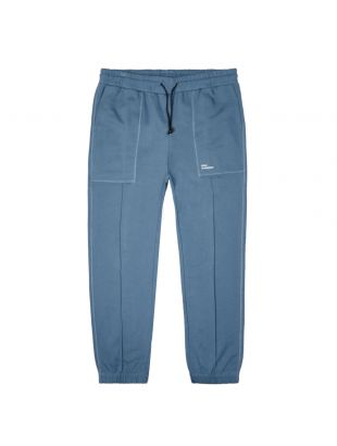 Drôle De Monsieur Sweatpants Cuffed |SS20BP011 Petrol| Aphrodite1994