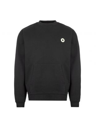 Sweatshirt Slogan Pocket - Black