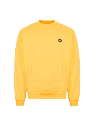 Sweatshirt Slogan Pocket - Yellow