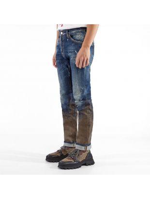 Jeans Mud Splash - Blue