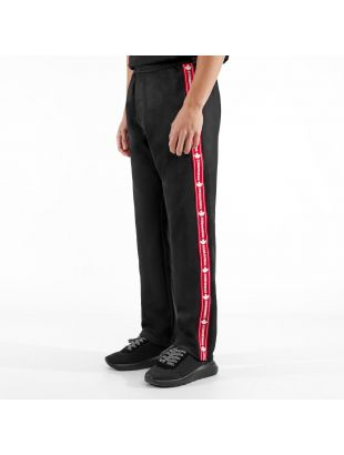 Sweatpants Side Logo - Black