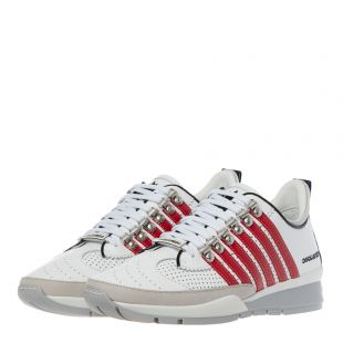 Trainers - White / Red