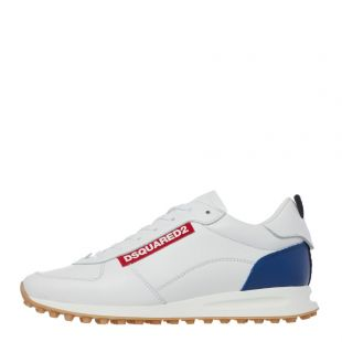 DSquared Runner Trainers | White SNM00810 1500001 M313 | Aphrodite