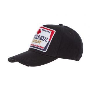 DSquared Cap | BCM022905 C00001 2124 Black / Gold