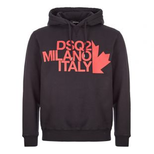 DSquared Hoodie Logo | S71GU0318 S25030 900 Black / Red