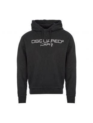 DSquared2 Hoodie Capri | S74GU0409 S25305 900 Black