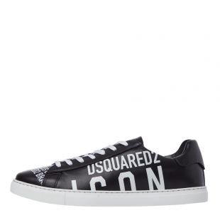 dsquared new tennis trainers SNM005 01502648 M063 black