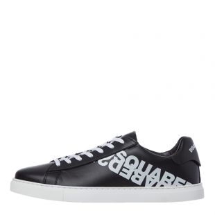 dsquared low top trainers SM0005 01501675 M063 black
