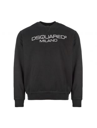 DSquared Sweatshirt Milano | S74GU0399 S25305 900 Black