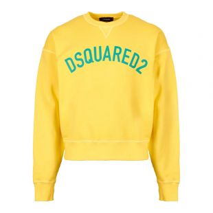 DSquared Sweatshirt Yellow S71GU0295 S25030 170