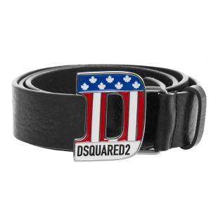 dsquared2 belt BEM0240 12900001 M197 black