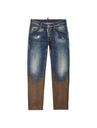 Jeans Mud Splash - Blue