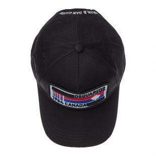 Cap Logo – Black Distressed