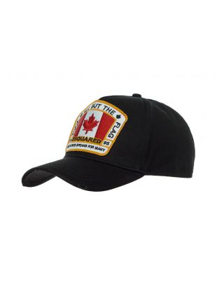 dsquared cap all but the flag BCM40110 5C00001 2124 black