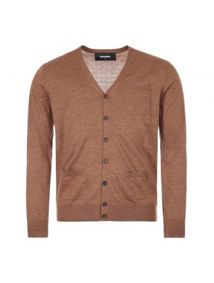 DSquared Cardigan | S74HA1105 S16794 112 Brown