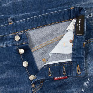 Cool Guy Jeans - Washed Indigo