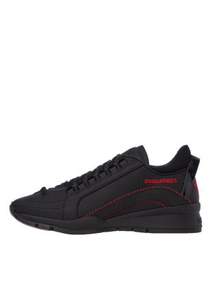 DSquared High Sole Sneakers | SNM0505 M002 Black