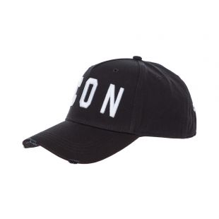 DSquared Icon Cap BCM400105 C00001 M063 Black