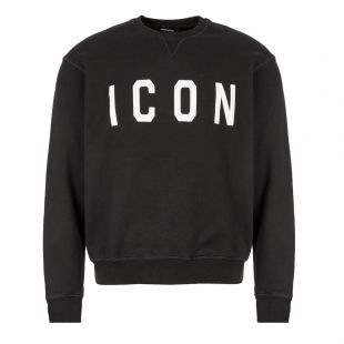 DSquared Sweatshirt Icon S74GU0352 S25042 968 Black
