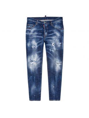 dsquared jeans skater S74LB0764 S30342 470 blue