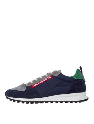 DSquared Low Top Sneakers , SNM0081 11702117 Navy / Grey , Aphrodite 1994