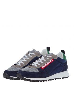Low Top Sneaker - Navy / Grey