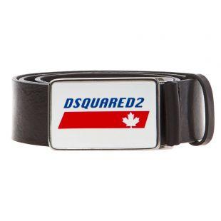 DSquared Belt Black BEM0212 12900001 2124