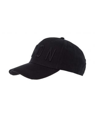 DSquared Icon Cap | BCM4001 M084 Black