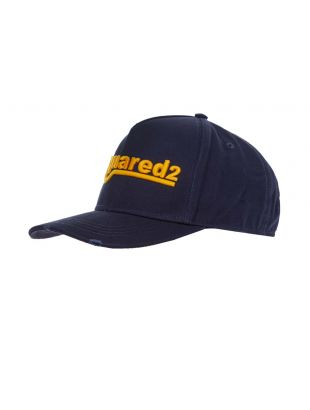 DSquared Embroidered Cap | BCM0361 M1386 Navy