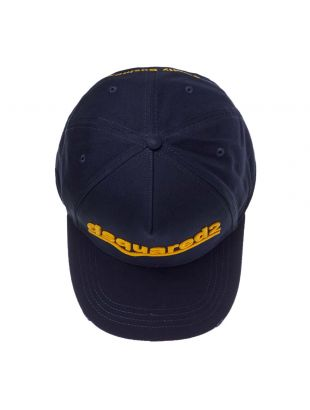 Embroidered Cap - Navy