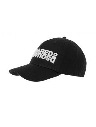 Cap Mirror Logo – Black