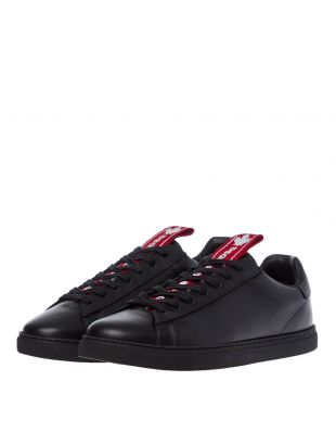 New Tennis Sneakers - Black / Red