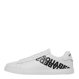 DSquared Trainers in New Tennis | SNM0005 01501675 M072 White