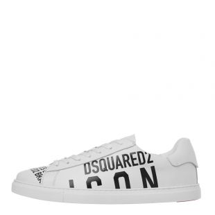 DSquared Trainers New Tennis| SNM0005 01502648 M072 White