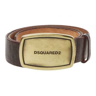 DSquared2 Belt Plaque | BEM022301 502402 M1041 Brown