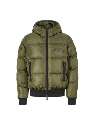 DSquared Zipped Jacket , S74AM1085 S53140 693 Olive , Aphrodite 1994